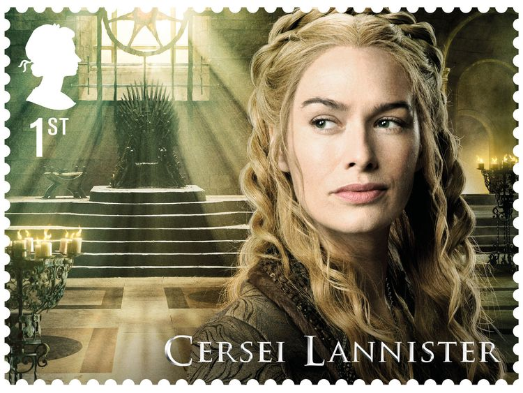 Game of Thrones stamps coming - in the United Kingdom, anyway