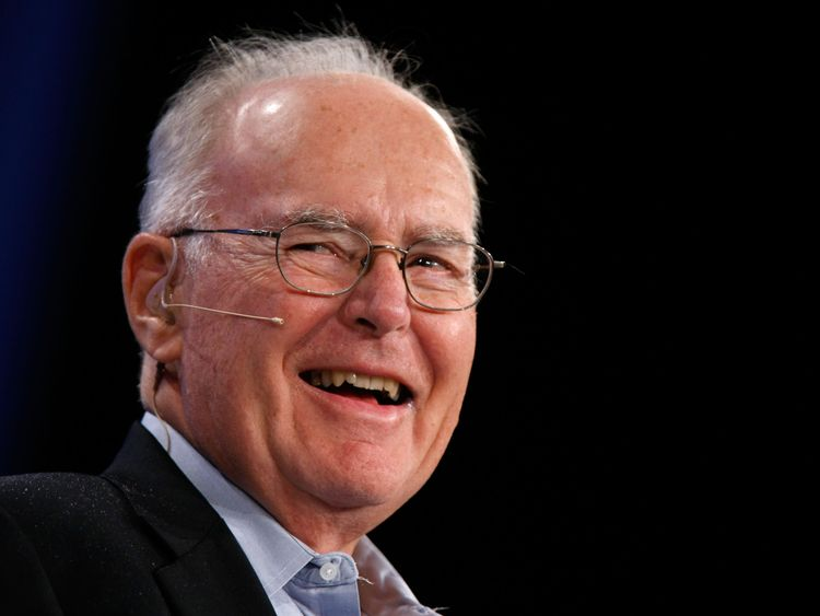Gordon Moore is a co-founder of Intel