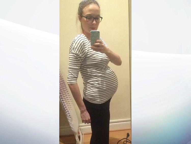 Sarah Hawkins pregnant