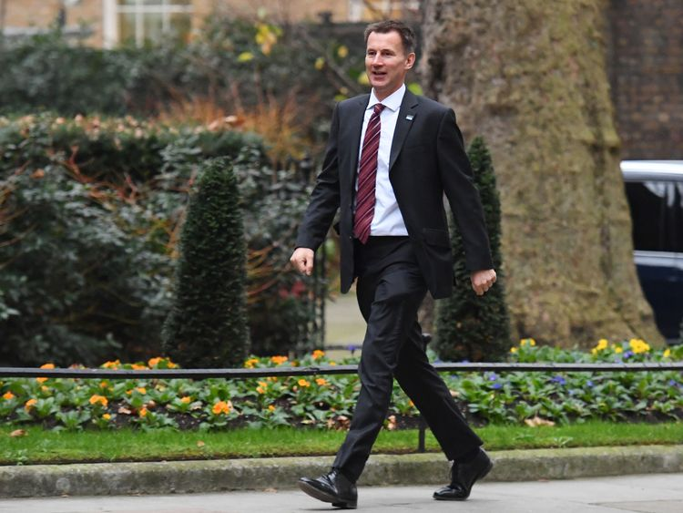 Jeremy Hunt is being asked to delay the NHS reforms
