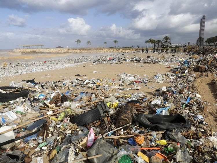Lebanon has a severe rubbish problem