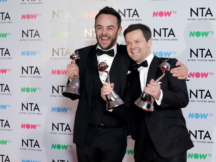 national tv awards ant dec