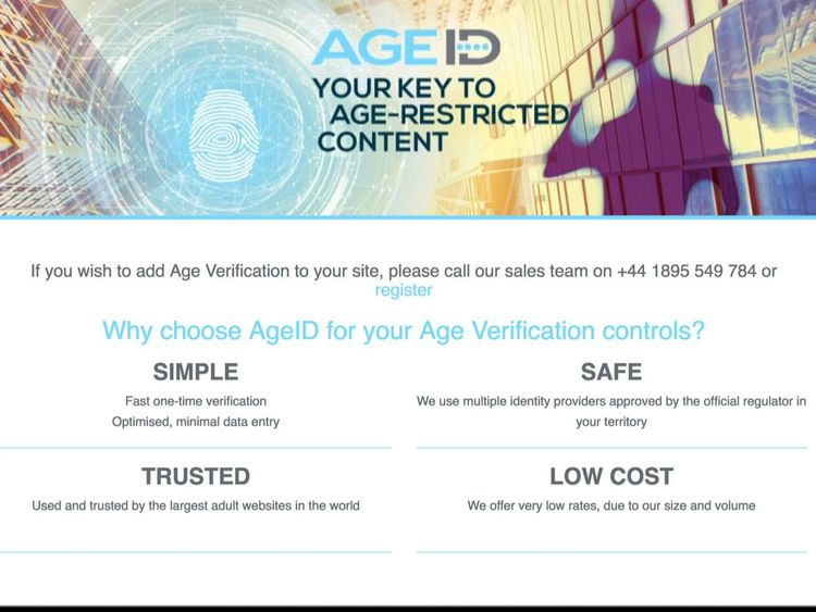 Crack adult face party verification system
