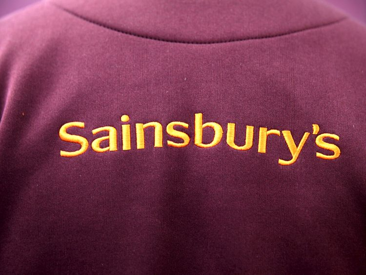 Sainsbury's supermarket worker