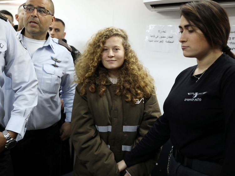 Ahed Tamimi will remain in prison until her court date