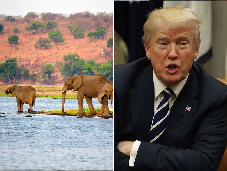 Botswana has demanded to know if it is covered by Donald Trump's 'shithole' comment