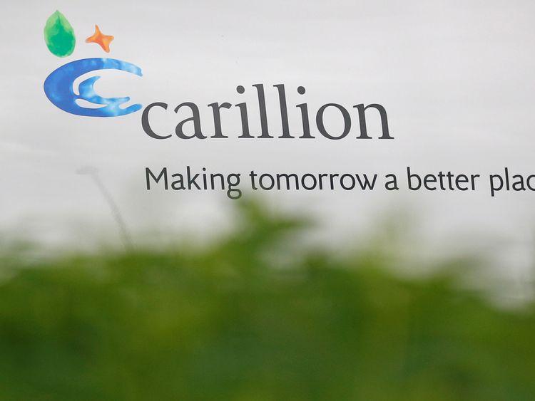 Carillion van