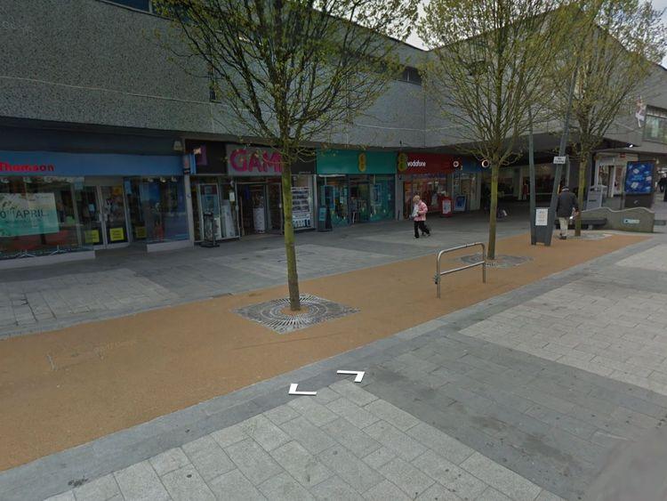 Chapel Street in Southport, Merseyside