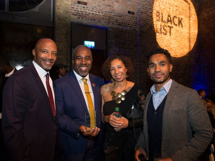 Cyrille Regis (l) was pictured in November last year at in London.