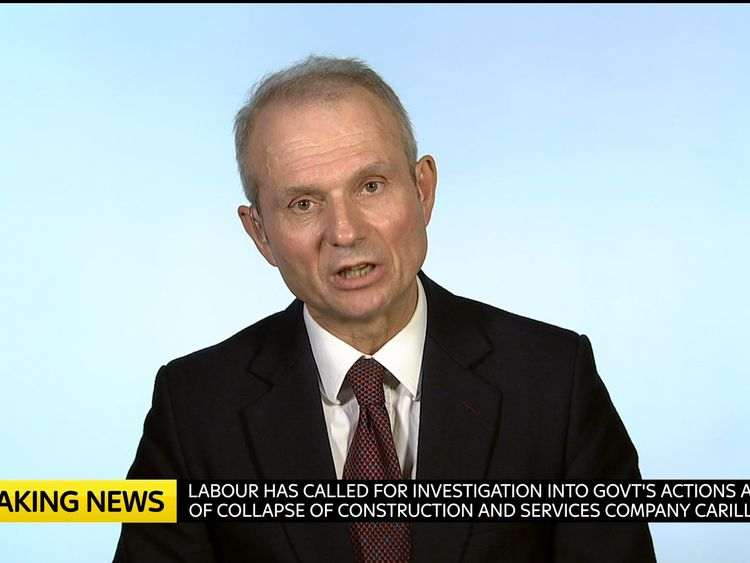 David Lidington is a Cabinet Office minister