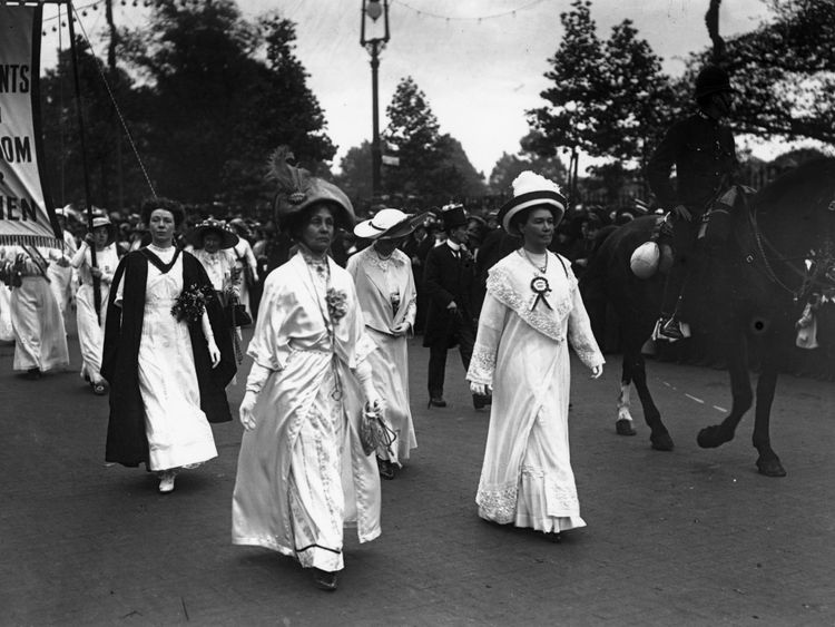 Suffragettes100: Remembering a hard-won fight for the vote