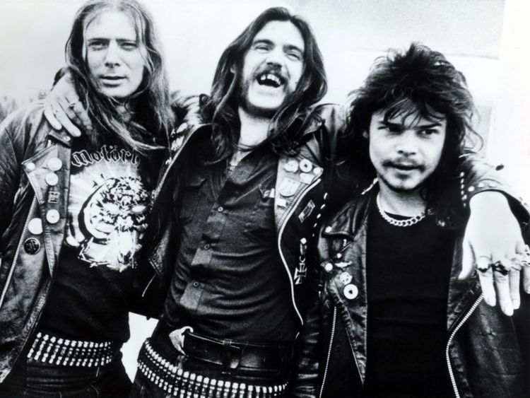 'Fast' Eddie Clarke, Lemmy and Phil 'Philthy Animal' Taylor