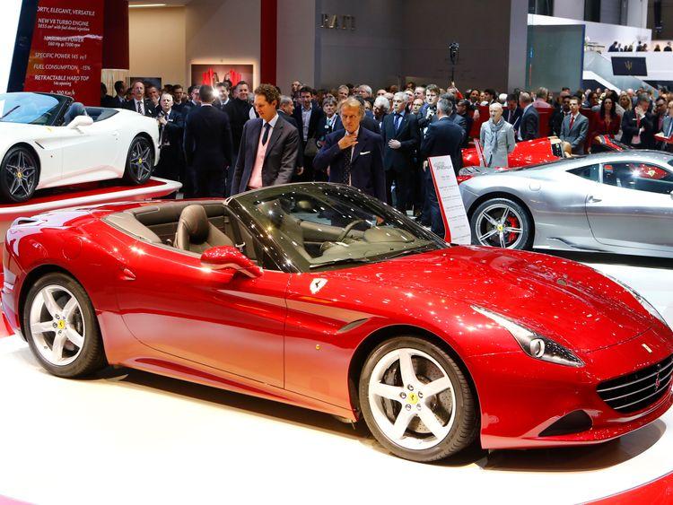 The Ferrari California T can reach speeds of almost 200mph