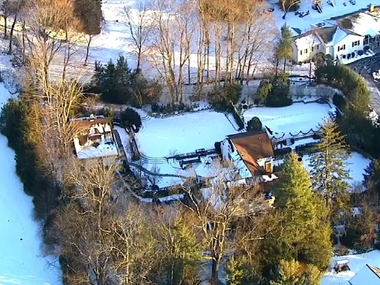 Fire breaks out at Bill and Hillary Clinton's property in Chappaqua, NY