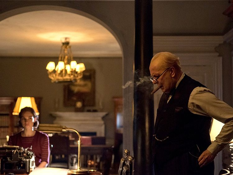 Oldman and James in Darkest Hour