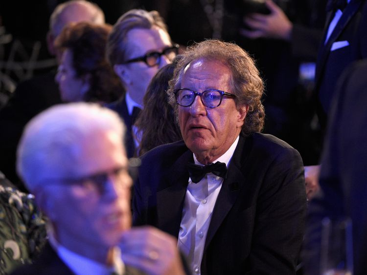 Geoffrey Rush 'barely eating' after misconduct claim