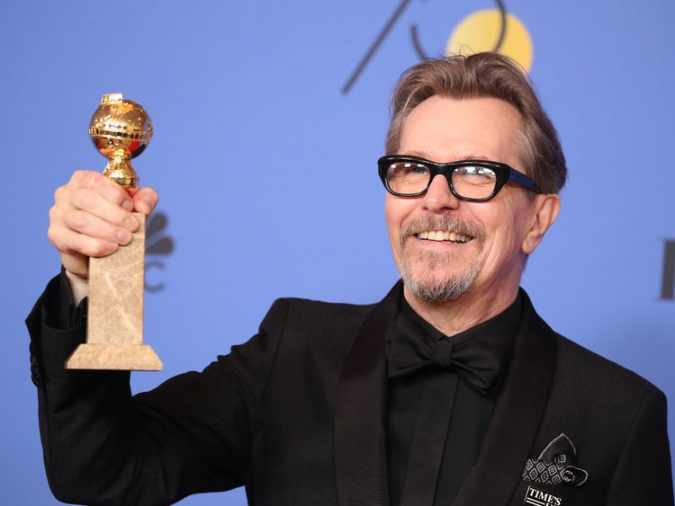 Gary Oldman was among the big winners at the Golden Globes