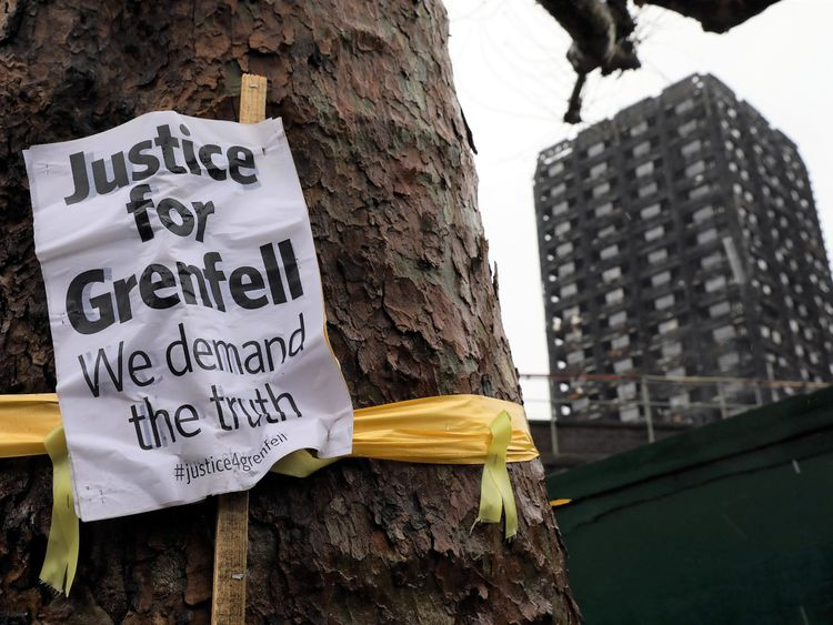 Grenfell fire aftermath