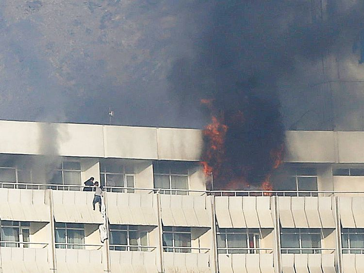 Multiple Americans killed, injured in Kabul hotel attack
