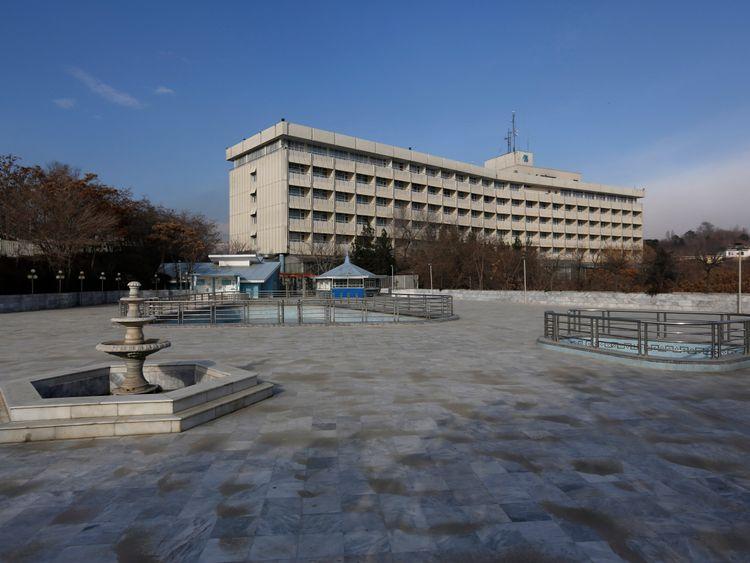 Gunmen have stormed the Kabul Intercontinental Hotel
