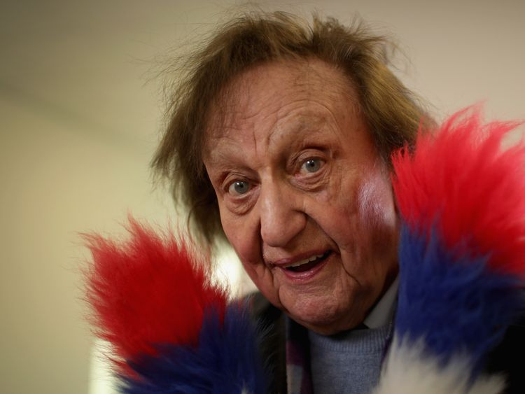 Sir Ken Dodd in November 2016
