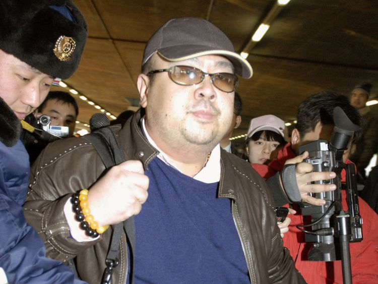 Kim Jong Nam was killed in February 2017 in Kuala Lumpur airport