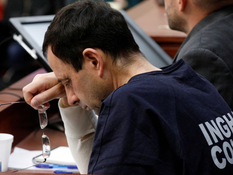 Larry Nassar has heard more than 100 women speak out against him in court