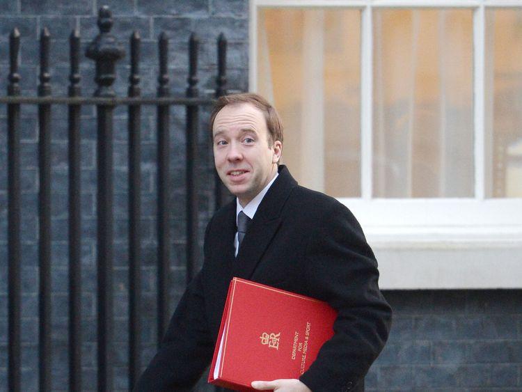 Matt Hancock, British Culture and Digital minister: We will tighten the law