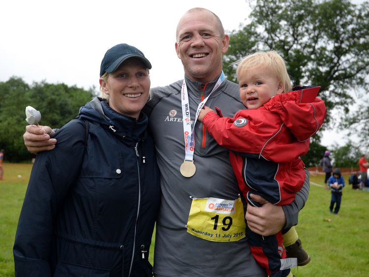 Mike Tindall reveals how to pronounce newborn baby Lena's name