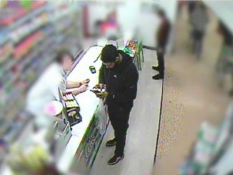 Mohammed at an Asda Pharmacy counter in Derby. Pic: NECTU
