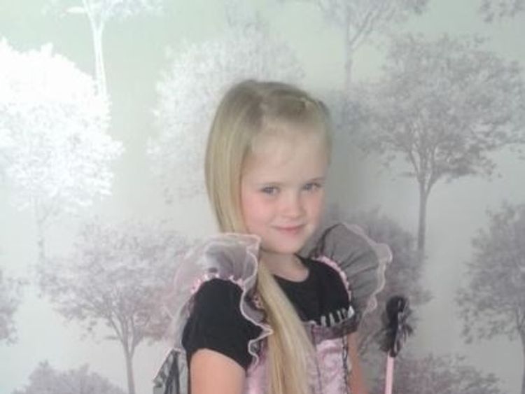 Eight-year-old Mylee Billingham was taken to hospital with stab injuries but unfortunately nothing could be done to save her life, and she was pronounced dead shortly after arriving. Pic: West Midlands Police