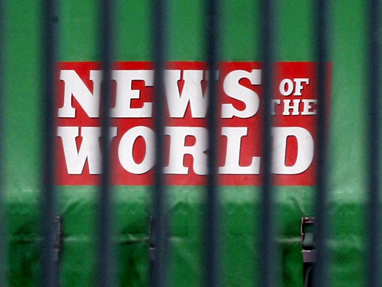 News of the World closed down in 2011 after the hacking scandal became widespread