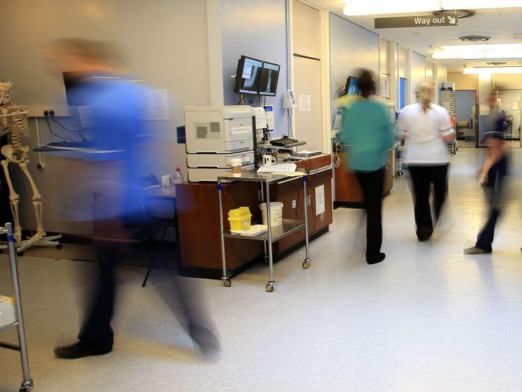 A hospital ward