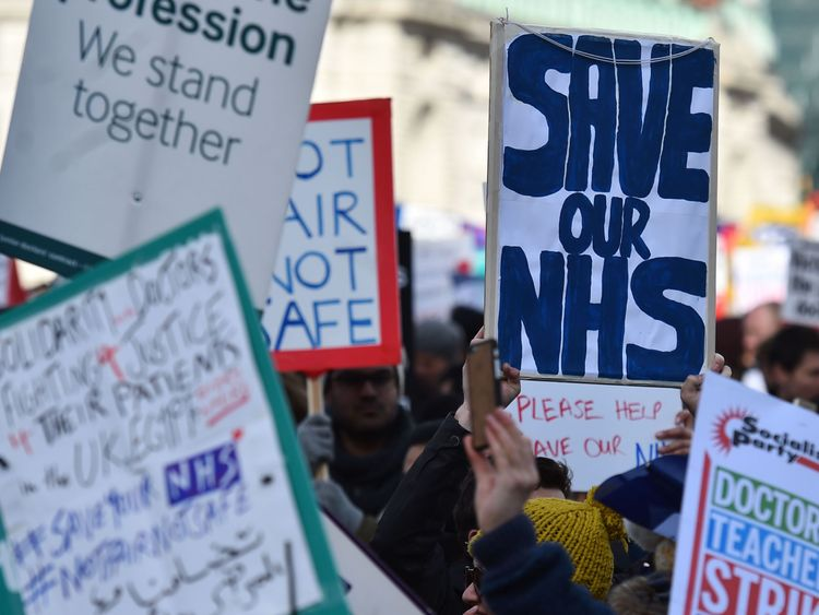 Prime Minister reveals £20bn a year boost for NHS