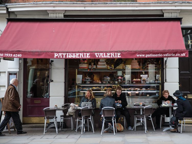 Patisserie Valerie - which has store in Chesterfield - faces crisis