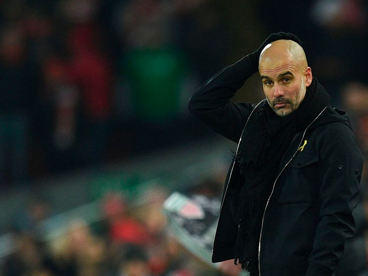 Pep Guardiola had guided City to 30 games unbeaten in the Premier League
