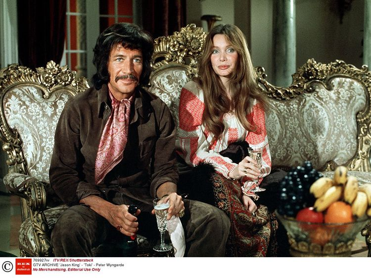 Peter Wyngarde in 'Jason King', 1971