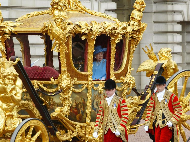 Queen's gold state coach