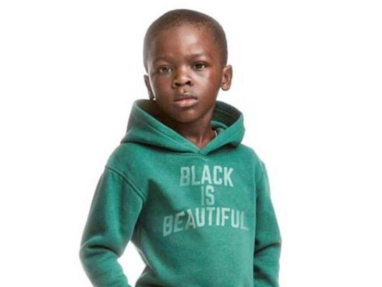 Romelu Lukaku changed the image to say 'Black Is Beautiful'