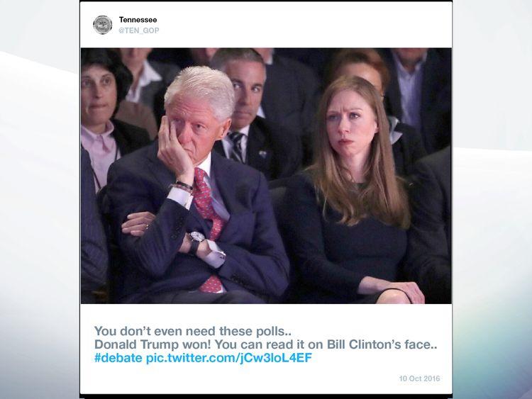 A sample Russian troll tweet. Pic: Twitter