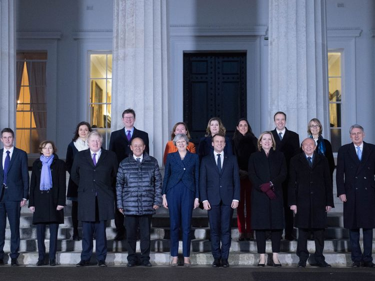 UK and French ministers met at Sandhurst military academy