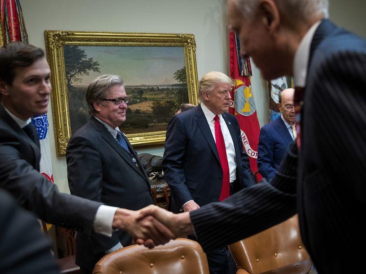 Steve Bannon was Donald Trump's chief strategist