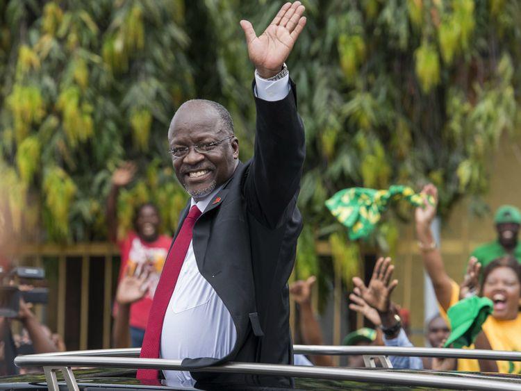 President John Magafuli last year said schoolgirls who get pregnant 'are done'