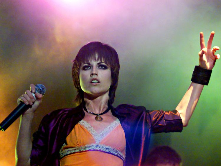 Dolores O'Riordan, pictured here in 2000, was found dead last week