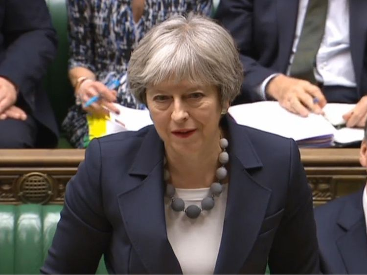May calls for veg to be sold without plastic