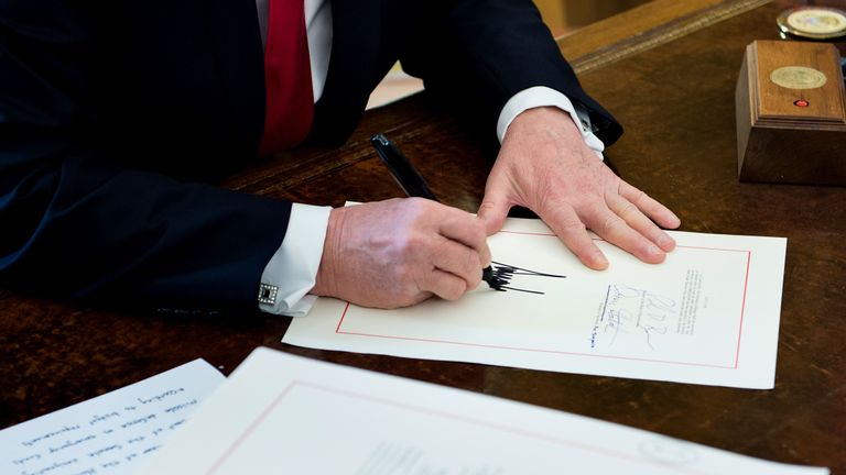 donald trump ready to sign tax bill december 2017