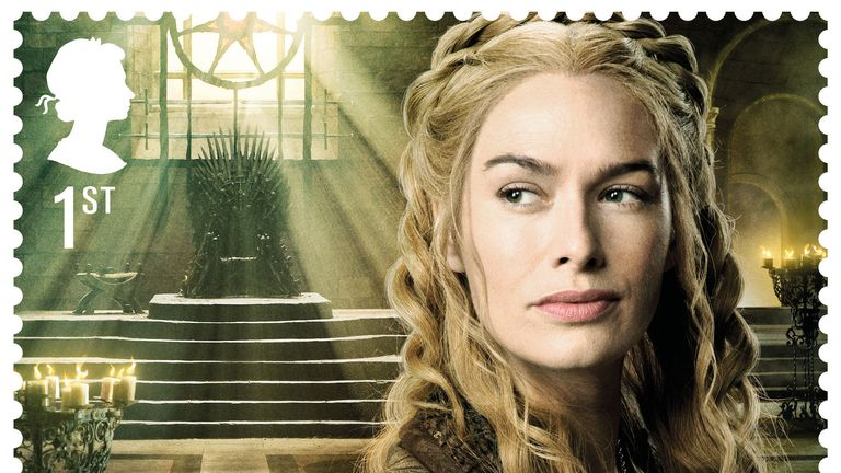 Game of Thrones stamps Cersei