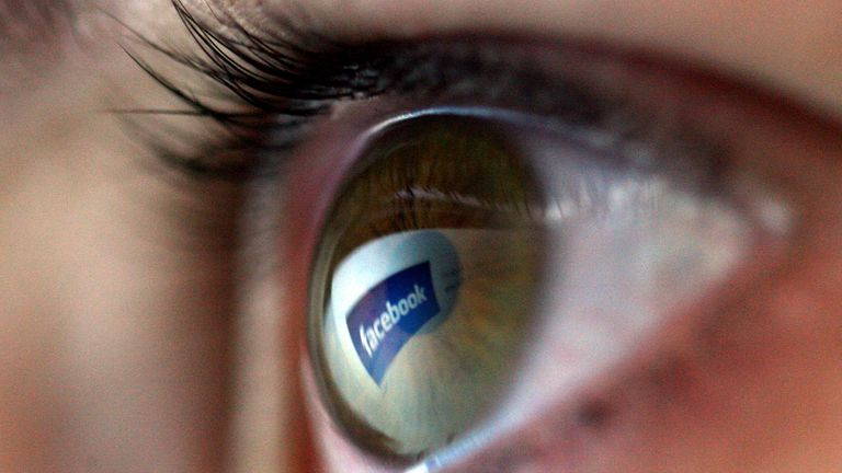 SOCIAL MEDIA FACEBOOK EYE