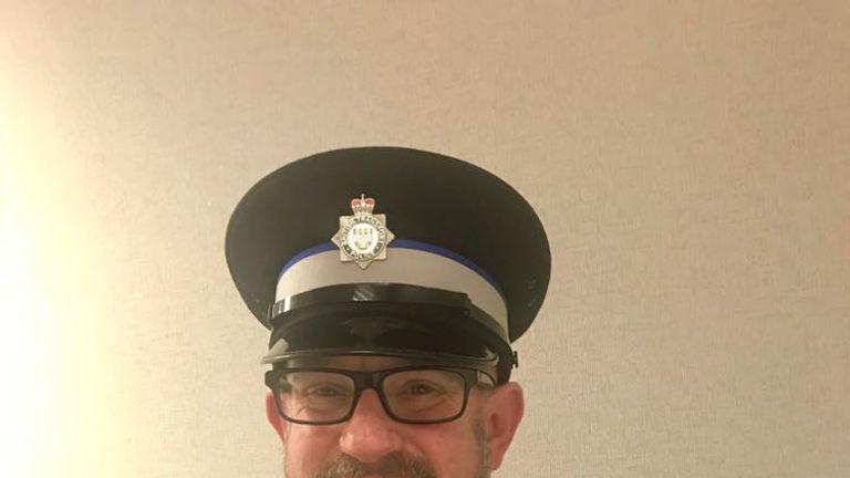 BTP officer Jon Morrey