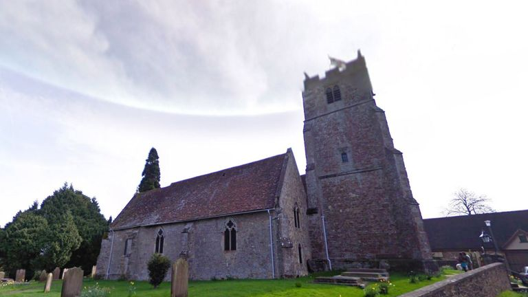 Holy Cross church bearstead